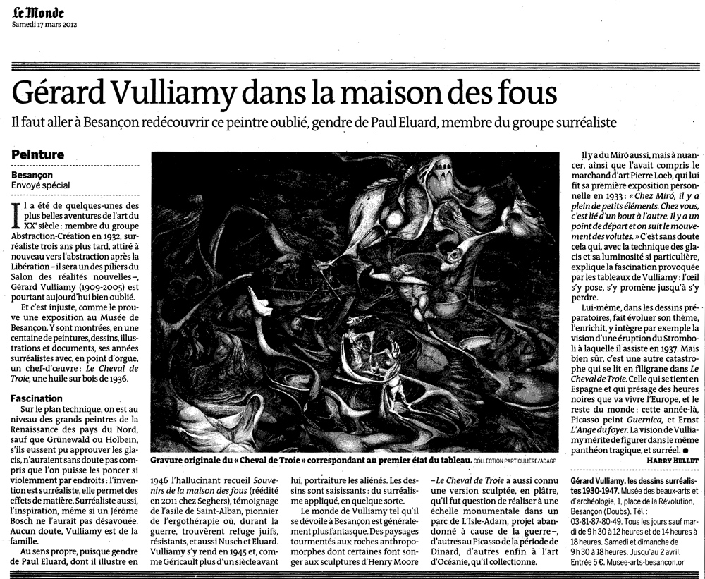 Le Monde | 16.03.2012 . | Par Harry Bellet